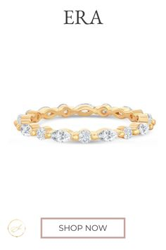 Alternating round and marquise diamonds strike a perfect classic, regal balance. Yellow Gold Rose Gold Platinum