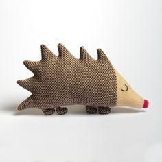 Mabel Hedgehog Lambswool Plush, by Sara Carr via Folksy, £29.00