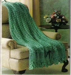 Irish Shamrocks Afghan - free crochet pattern