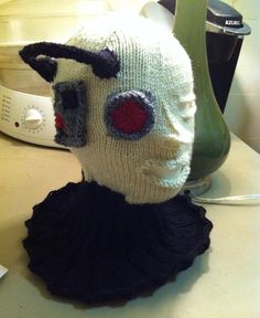Resistance is Futile: Epic Knitted Borg Hat [Pic]