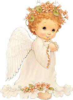 Angelitos | Imagens para Decoupage