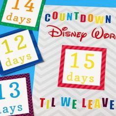 Countdown to Disney #disneycountdownprintable #freecountdownprintable disney calendar, disney 2014, countdown calendar, art of animation disney world, disney countdown printable, disney art of animation resort, disney printabl, disney trip, disney vacat