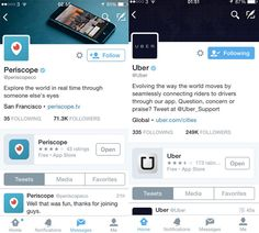 Twitter is testing the ability to pin apps to brand profiles