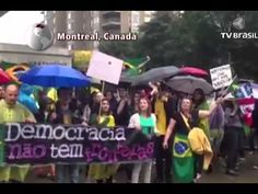 Manifestações no Brasil ganham apoio no exterior - - YouTube