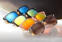 Ralferty Retro Wood Sunglasses Men Bamboo Sunglass Women Brand Design Sport Goggles Gold Mirror Sun Glasses Shades lunette oculo - The Bargain Paradise Wooden Sunglasses, Stylish Sunglasses, Retro Sunglasses, Mirrored Sunglasses, Discount Sunglasses, Sunglasses Sale, Round Sunglasses, Sunglasses Women, Sports Sunglasses