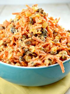 Carrot Salad              By Kathleen,                 July 1, 2014             Ingredients:2/3 Cup - Mayonnaise2 Tablespoons - Fresh Lemon ...