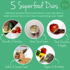 Supper charge your health with these 5 power food combinations