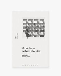 """""""Excellent book cover for 'Modernism - evolution of an idea' by FFF's very own @gray for @bloomsburypublishing """""""