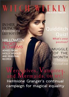 Hermione Granger for magical equality
