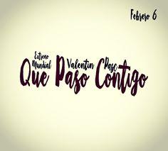Martes 6 de Febrero es el día... Que pasó contigo... mi sencillo estará disponible para ti. Te encantará!!! Valentín Pasc #Quepasocontigo #valentinpasc #music #comingsoonvp #música #piano #guitarra #ares #redessociales #contests #frasespoeticas #frasesromanticas #frase #frases  #amor #love #followme #sigueme sigueme www.twitter.com/@Valentínpasc www.instagram.com/valentin.pasc www.yosoyvalentinpasc.com