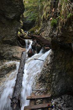 Sucha Bela - Słowacki Raj w pigułce - places2visit.pl Waterfall, Europe, Places, Travel, Outdoor, Belle, Outdoors, Viajes, Waterfalls