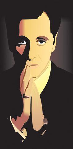 Michael Corleone by Shin-Senpuu