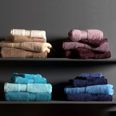 Christy Supreme Towels - Luxury heavyweight supreme towels combine Supima premium quality yarn with a unique approach to colour. Luxury Towels, Supreme, Ebay, Home, Interiors, Colour, Bathroom, Unique, Color