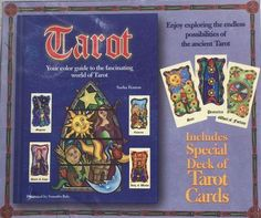 Tarot Color Guide and Special Deick of Cards Sasha Fenton Samantha Bale NWOT