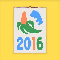 2016 Calendars :: Risotto | People of Print