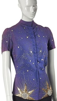 Schiaparelli teamed up with the renowned embroidery atelier Lesage for the Astrologie collection