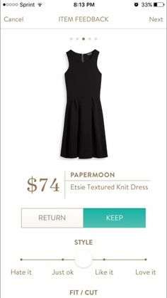 I would love a cute little black dress that I could wear throughout the different seasons. http://fancytemplestore.com