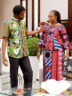 Uniwax miss 1 by Uniwax - issuu African Prom Dresses, Latest African Fashion Dresses, African Print Fashion, African Dress, African Clothes, African Traditional Dresses, Ghanaian Fashion, African Attire, African Women