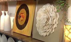 Como fazer quadros com coador de café e pedrarias - http://quadrosdecorativos.net/quadros-decorativos-coador-de-cafe-pedrarias/