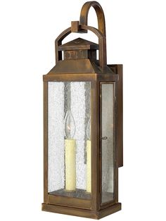 Hinkley Lighting 1184 Revere 2 Light Tall Heritage Outdoor Wall Sconce with Sienna Outdoor Lighting Wall Sconces NULL Outdoor Wall Lantern, Outdoor Wall Sconce, Outdoor Walls, Outdoor Wall Lighting, Exterior Lighting, Wall Sconce Lighting, Lighting Ideas, House Lighting, Lantern Lighting