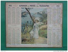 Calendrier ALMANACH DES POSTES - Delcampe.net