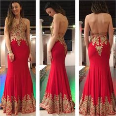Red Prom Dress with Open Back,Lace Prom Dress,Mermaid Evening Dress,Long Formal Gold Prom Dresses, Backless Prom Dresses, Prom Dresses For Sale, Sexy Dresses, Formal Dresses, Formal Prom, Pageant Dresses, Wedding Dresses, Bridesmaid Dresses