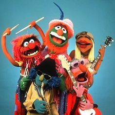 Dr. Teeth and the Electric Mayhem. Most people don't know there was another member of the band briefly (season 5): Lips (not pictured) on trumpet.