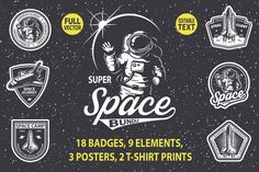 Super space bundle by Imogi on Creative Market
