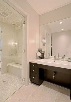 Handicap Bathroom Design Ideas, Pictures, Remodel and Decor
