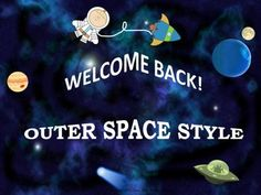 This 18-page Welcome Back package includes resources in an Outer Space theme to get your students off to a great start! $4 Pre-K- grade 5