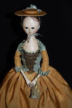 Sweet Little Wooden Doll