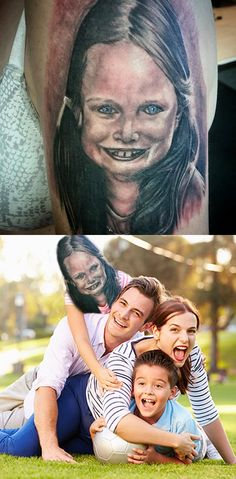 12 terrible tattoos brought to life (12 Photos)