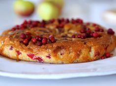 Omena-puolukka-toffeekakku – Sikeltä sinulle
