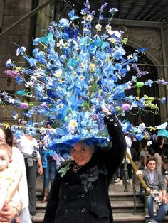 NYC's annual Easter Parade - see people (and many pets) dressed in extravagant Easter bonnets. It is less of a parade, rather more of a gathering to see and be seen near St. Patrick's Cathedral. The parade began in the 1800's along Fifth Avenue.