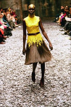 Alexander McQueen, It's a Jungle Out There A/W 1997