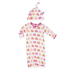 Girl's camper gown