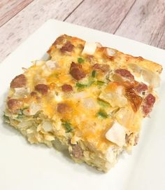 This is my new favorite breakfast!! Not only does it taste delicious but it's low in points too! I made this in an 8×8 baking pan. If you cut it into 6 pieces each serving is 3 Freestyle points. If you cut it into 4 pieces each serving is 5 Freestyle points. The four pieces… Continue reading Breakfast Casserole – Weight Watchers Freestyle