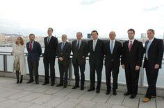Los miembros del comité ejecutivo y del consejo rector de la Escola se reunieron ayer en Barcelona. Foto E. García