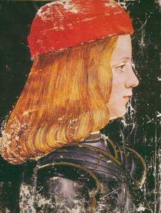 Giovanni Ambrogio de Predis, Portrait of Maximilian Sforza, Duke of Milan, c. 1515