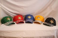 OES - Order of the Eastern Star rhinestone adjustable ball caps