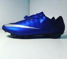 4660d441f Nike Mercurial Vapor FG CR7 Blue Diamond. SP Cleats · Nike Soccer Cleats
