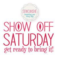 Show Off Saturday: My one talent... Speed Sewing — SewCanShe | Free Daily Sewing Tutorials