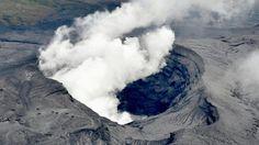 Regering Japan waarschuwt omwonenden na uitbarsting vulkaan Aso - Volkskrant