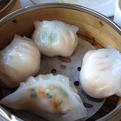 Dimsum - Shrimp dumplings. This is so good in a soup with kale xoxox #dimsum#shrimp#dumpling
