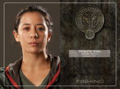 Hunger Games Female Tribute from District 4 Name: Unknown Age: Unknown Height: Weapons: Unknown Hunger Games Characters, Hunger Games Movies, Hunger Games Trilogy, Finnick And Annie, Katniss And Peeta, Katniss Everdeen, Districts Of Panem, Hunger Games Districts, Tribute
