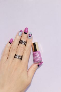 Elegant Fall nail design, mavala barcelona