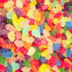 gummy bears!  #livecolorfully #spring #summer #candy