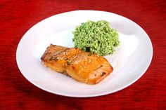 Baked Salmon with Honey, Sesame, Chili, & Teriyaki Marinade by Jesse Morris