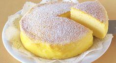 Den japanske blogger Ochikeron har bedrevet en genistreg med denne ultralette og superlækre cheesecake, som kun har tre ingredienser