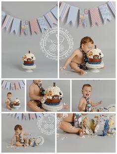 Smashing boys | Virginia Beach Birthday Baby Photography | Kimberlin_Gray_PhotographyCustom Newborn Photographer in Virginia Beach